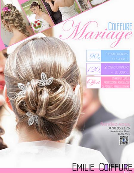 Coiffure mariage 76