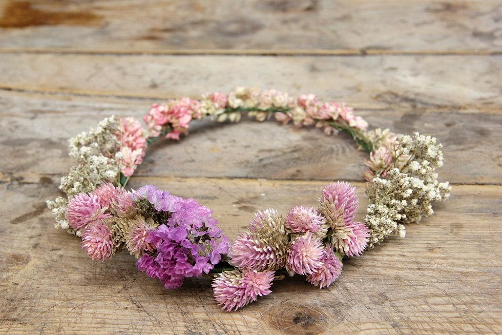 Diademas de flores naturales - Coronitas de flores ...