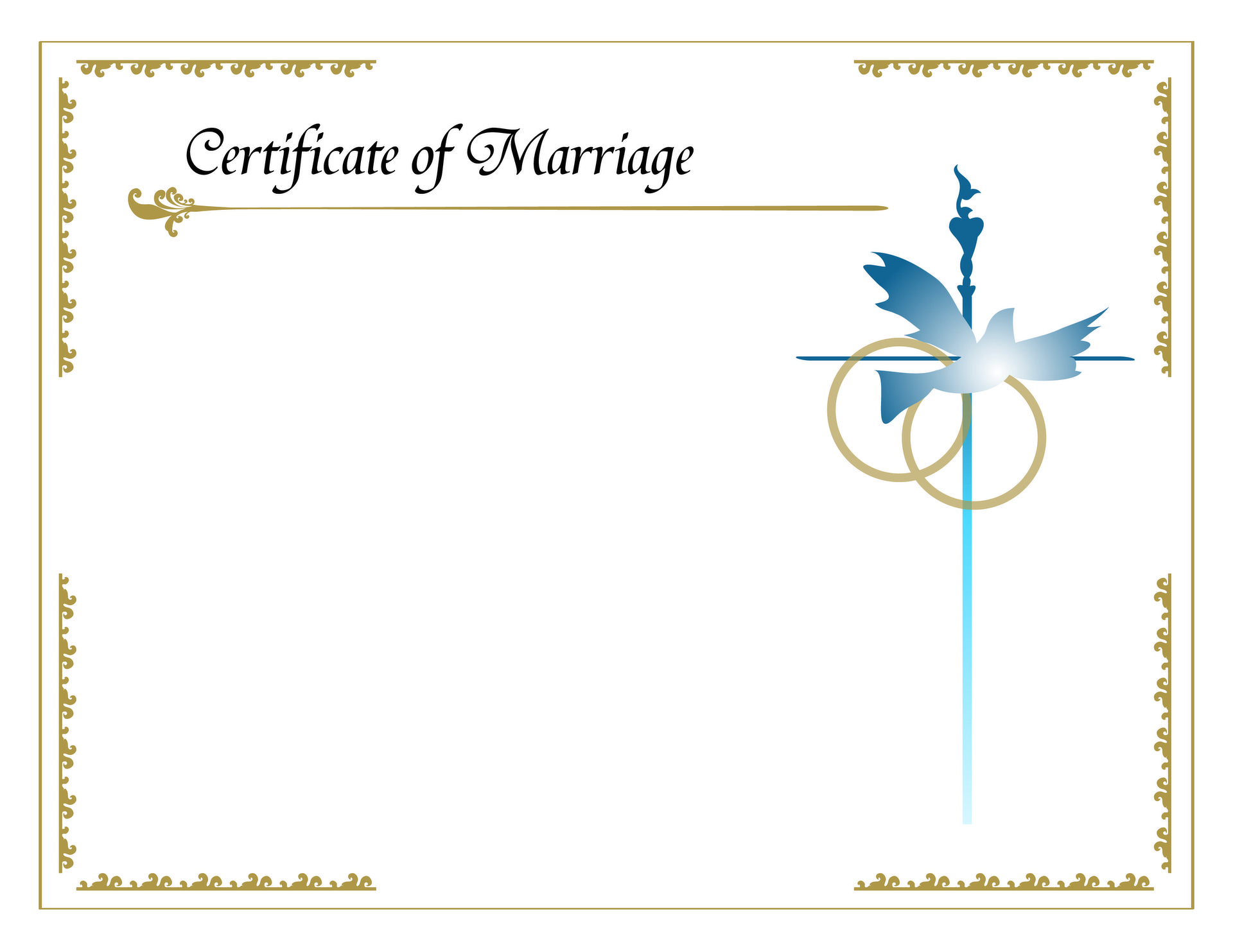 Natalia Ricotta | Marriage Certificate Design