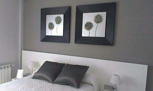 Cuadros cabecero cama cabeceros de cama diseo variado cuadros flores cabeceros de cama forma - Cuadros encima cabecero cama ...