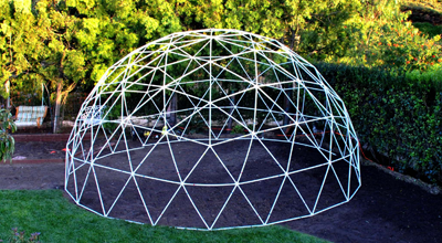 7 Advantages Of Geodesic Domes Pvc Ideas Snap Clamp