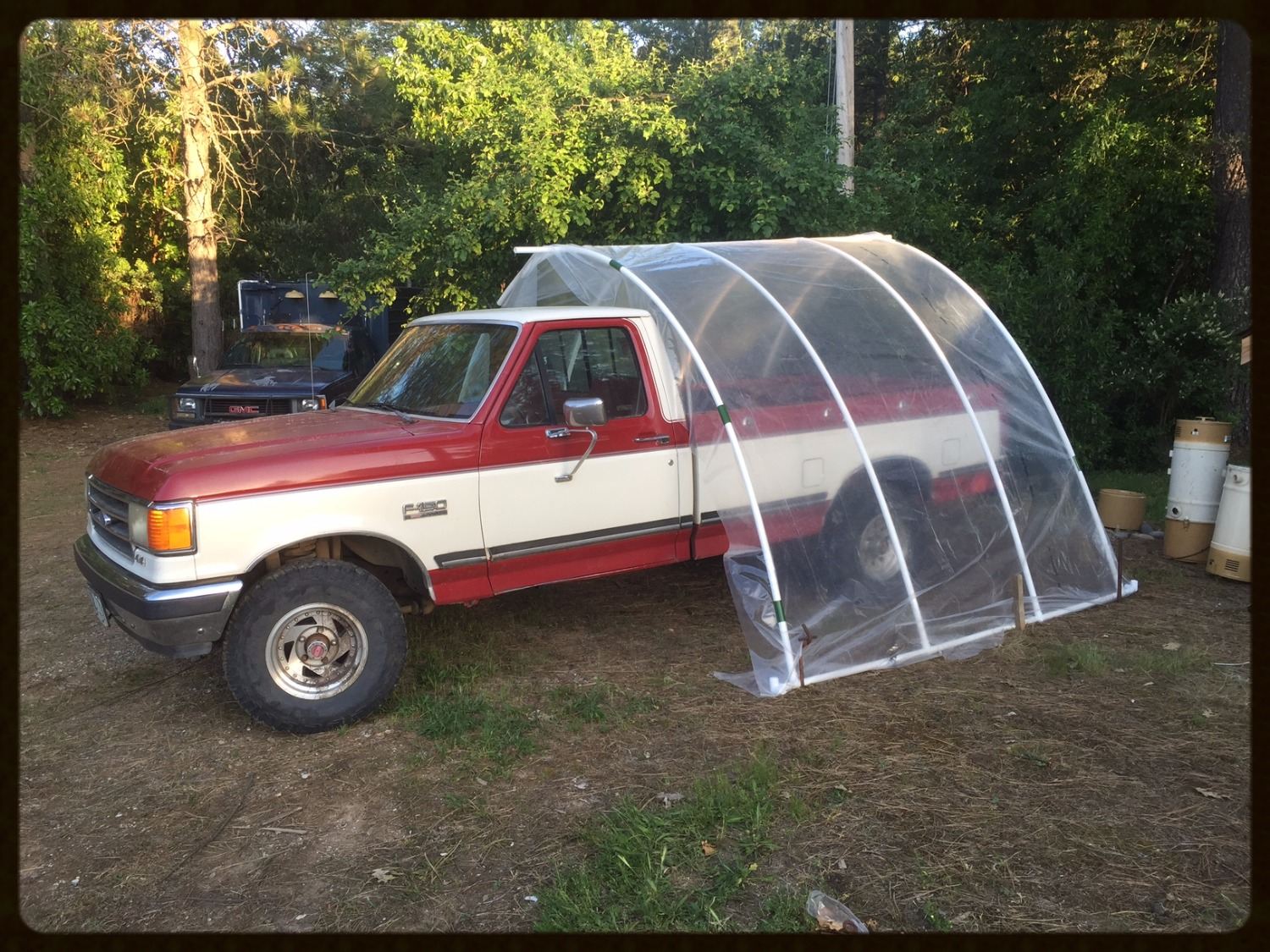 Pvc carport in an hour no cutting ideas snap