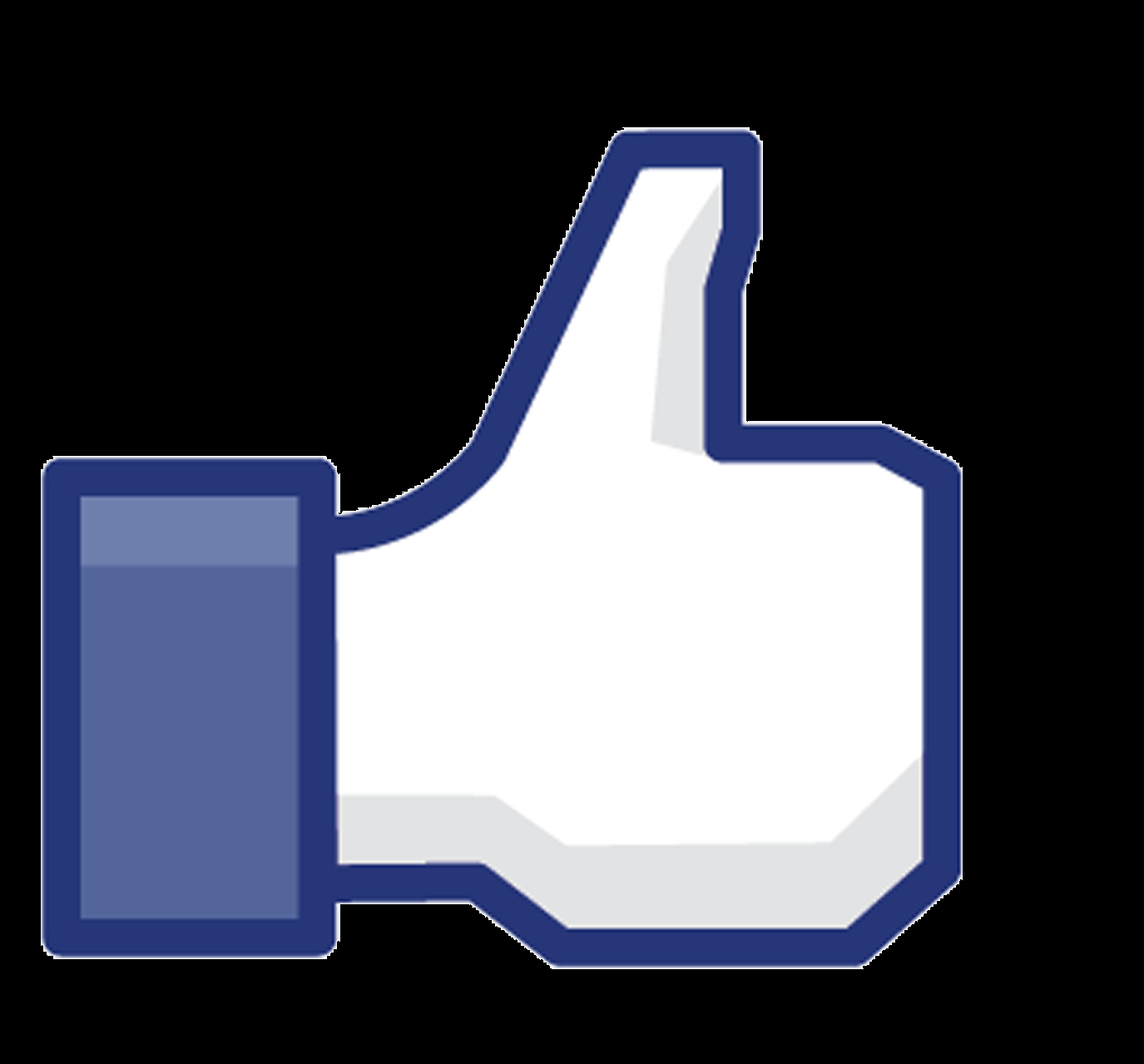 Facebook Icon Black Ba...