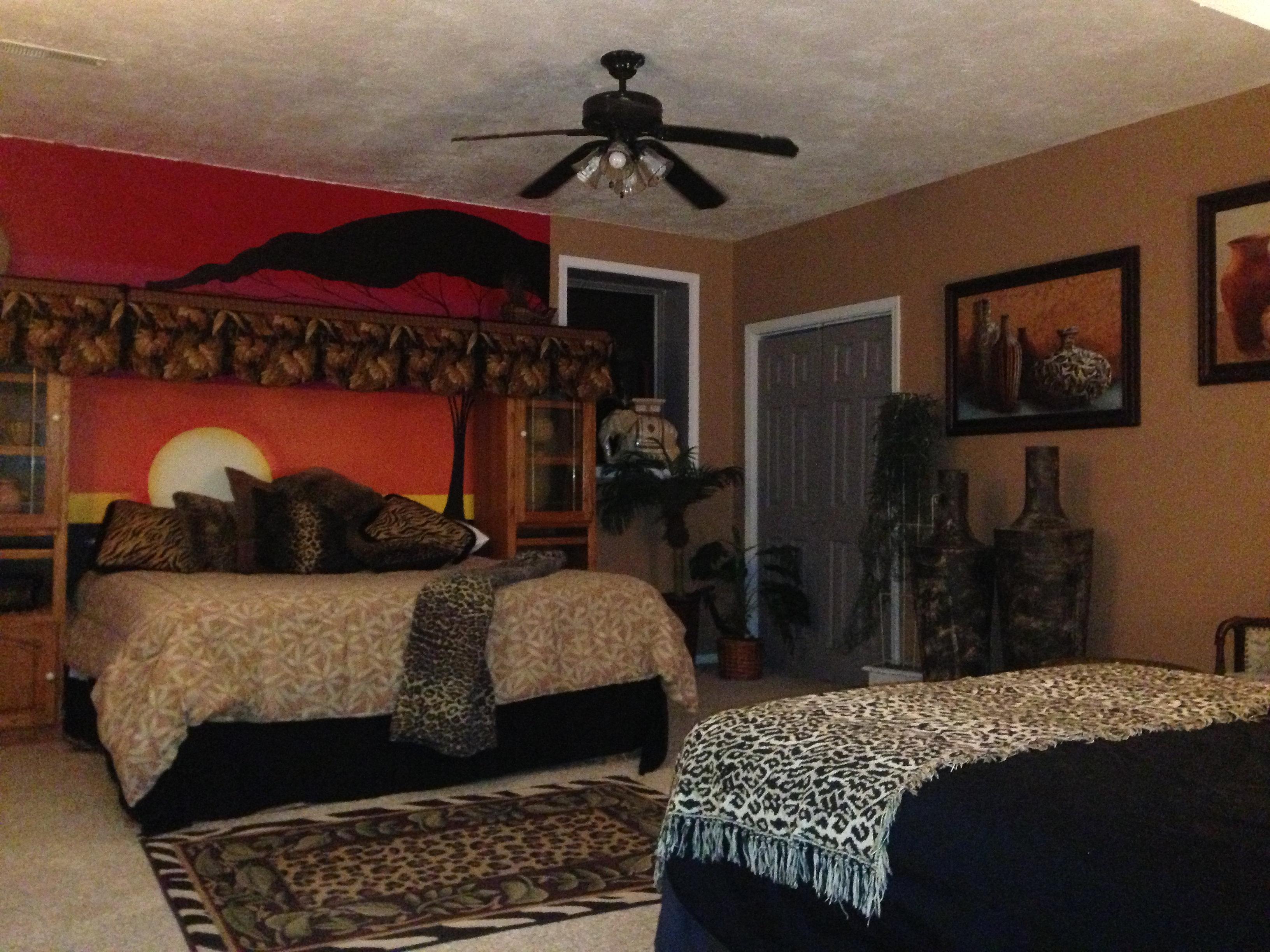 Safari Bedroom Ozarklookoutridge Safari Room
