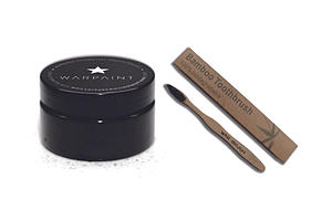 Warpaint Natural Teeth Whitener + Eco Toothbrush