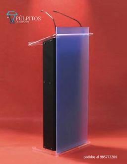 púlpitos acrilico y acero , atril, podium  serie PA 0110.jpg