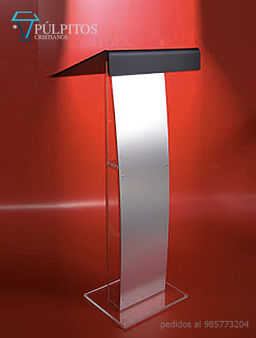 púlpitos acrilico y acero , atril, podium  serie PA 0103.jpg