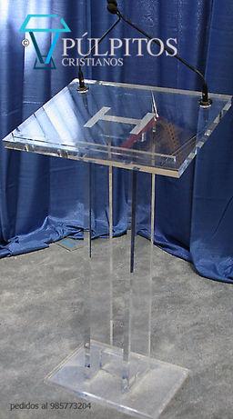 púlpitos acrilico , atril, podium  serie PA 01009.jpg