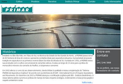Clique para acessar o site da PRIMAR