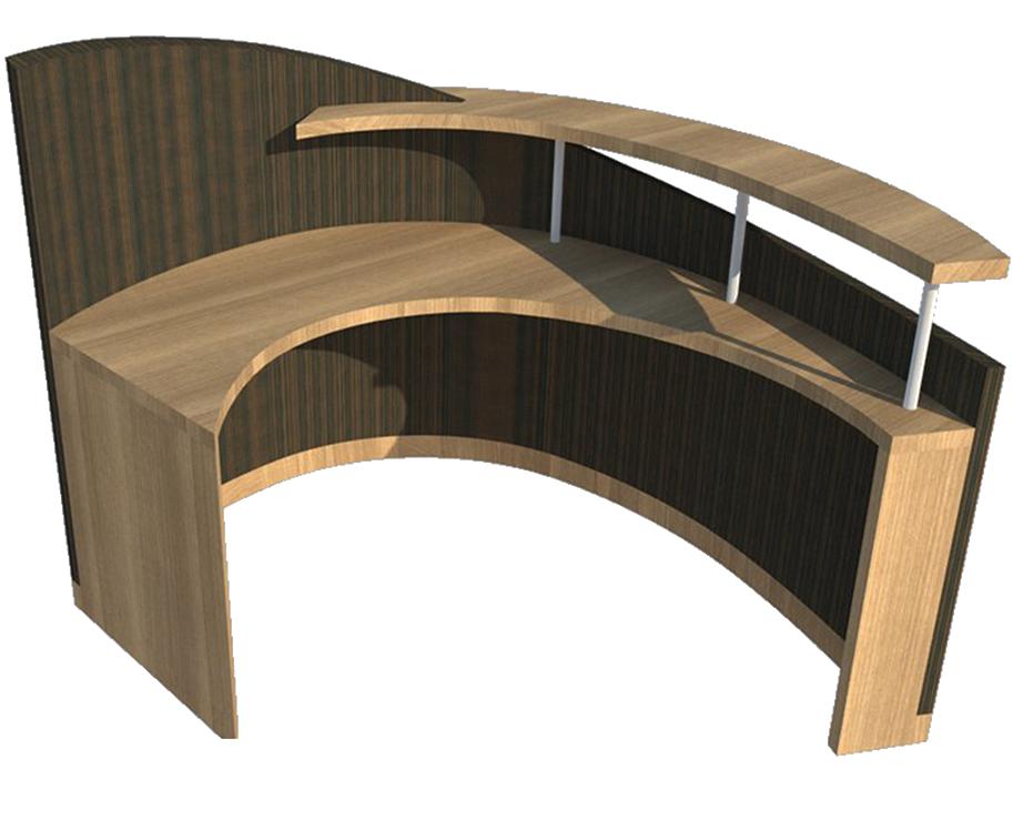 Creative Office Interiors Inc Custom Reception Desk