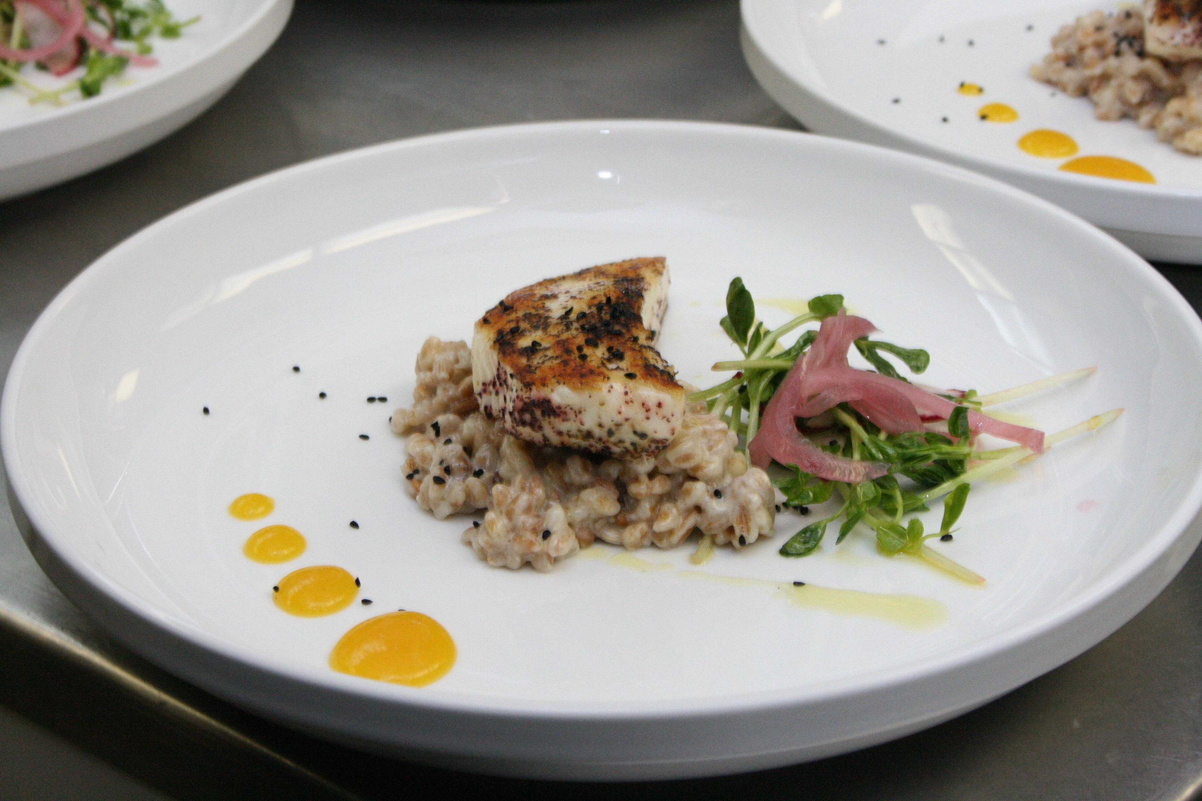Halibut a la plancha for Cuisine 0 la plancha