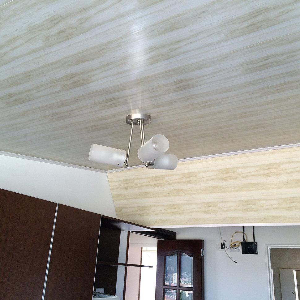 Aikkaa construcciones en drywall pvc cielo raso for Modelos de cielo falso