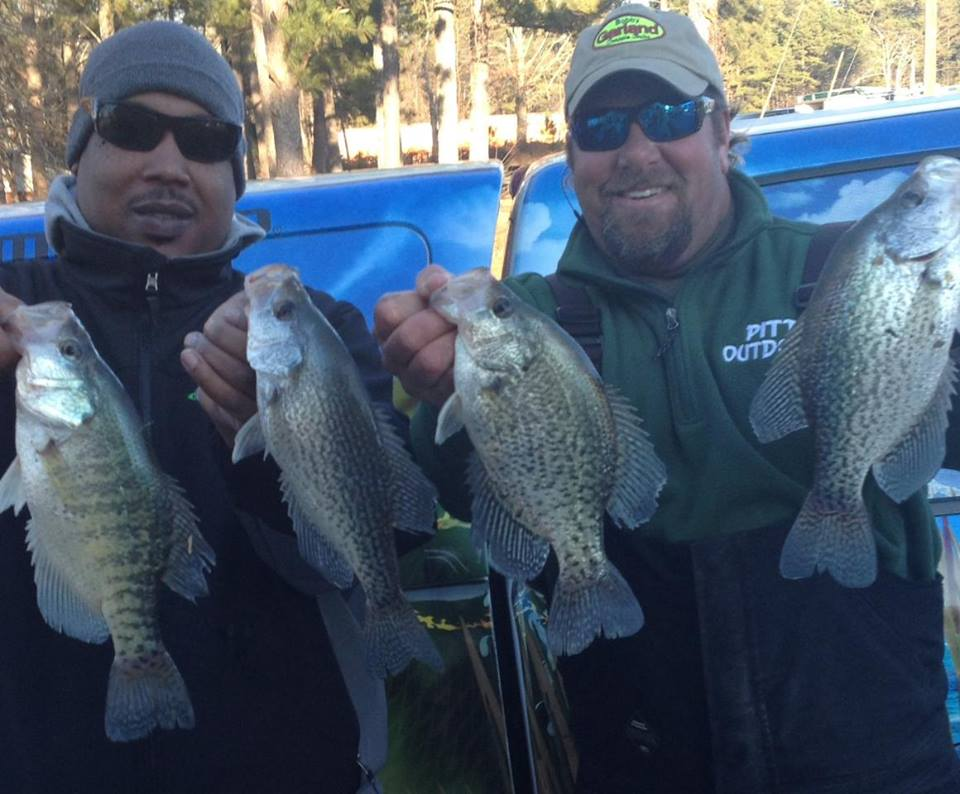 Cold weather not an issue for crappie success weiss for Weiss lake fishing report
