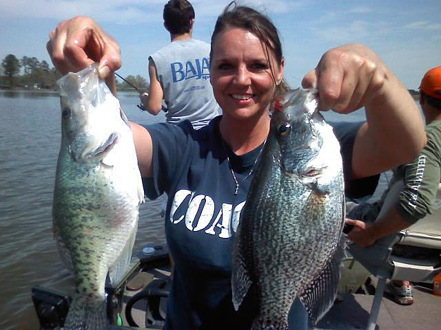 Weiss lake crappie fishing for Crappie fishing in alabama