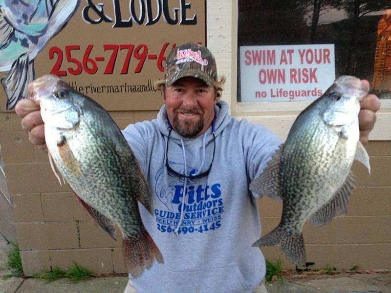 Lee pitts weiss lake alabama crappie fishing guide weiss for Crappie fishing in alabama