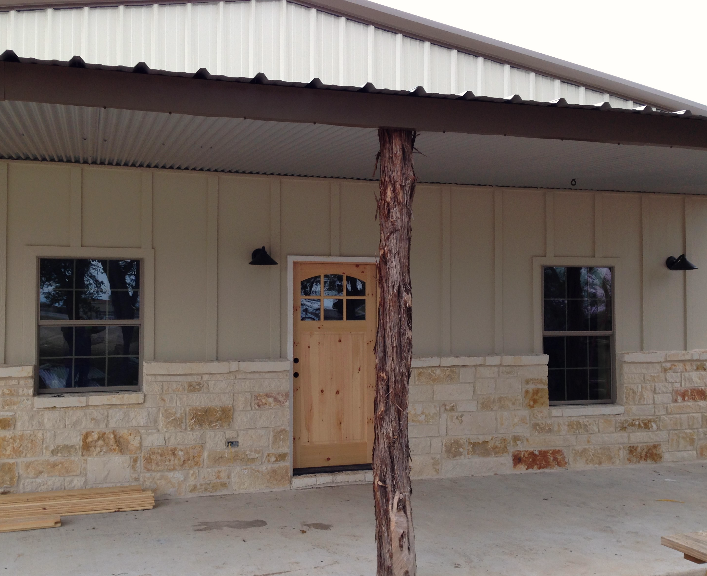 Rau builders texas barndominiums and metal buildings for Metal home designs prices