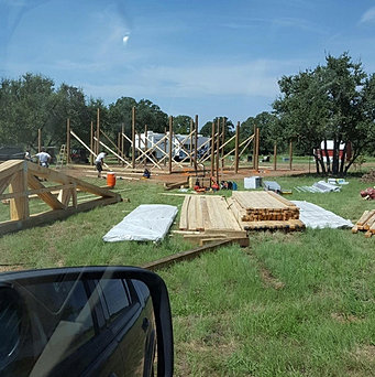 Rau builders texas barndominiums and metal buildings for 30x30 pole building