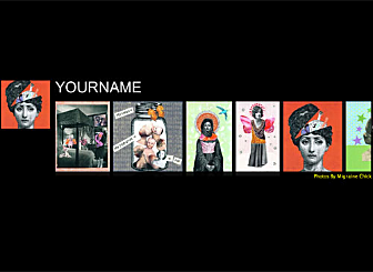 Black TopFolio Template - This beautiful Alternative Header is designed to showcase and sell your best Art creations. With no downloads and programming needed, high quality professional galleries and an easy to customize layout this design is waiting to present you and  your works  to the world