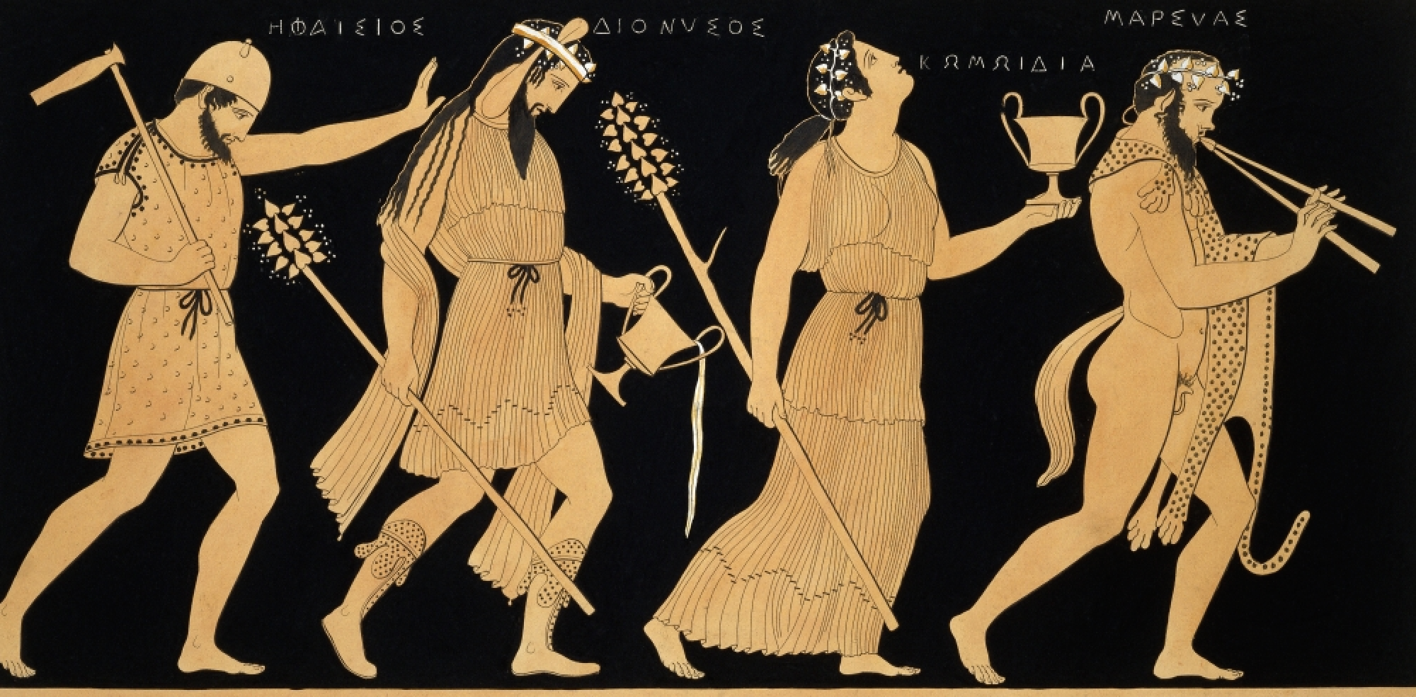 contrasting apollo and dionysus in greek mythology