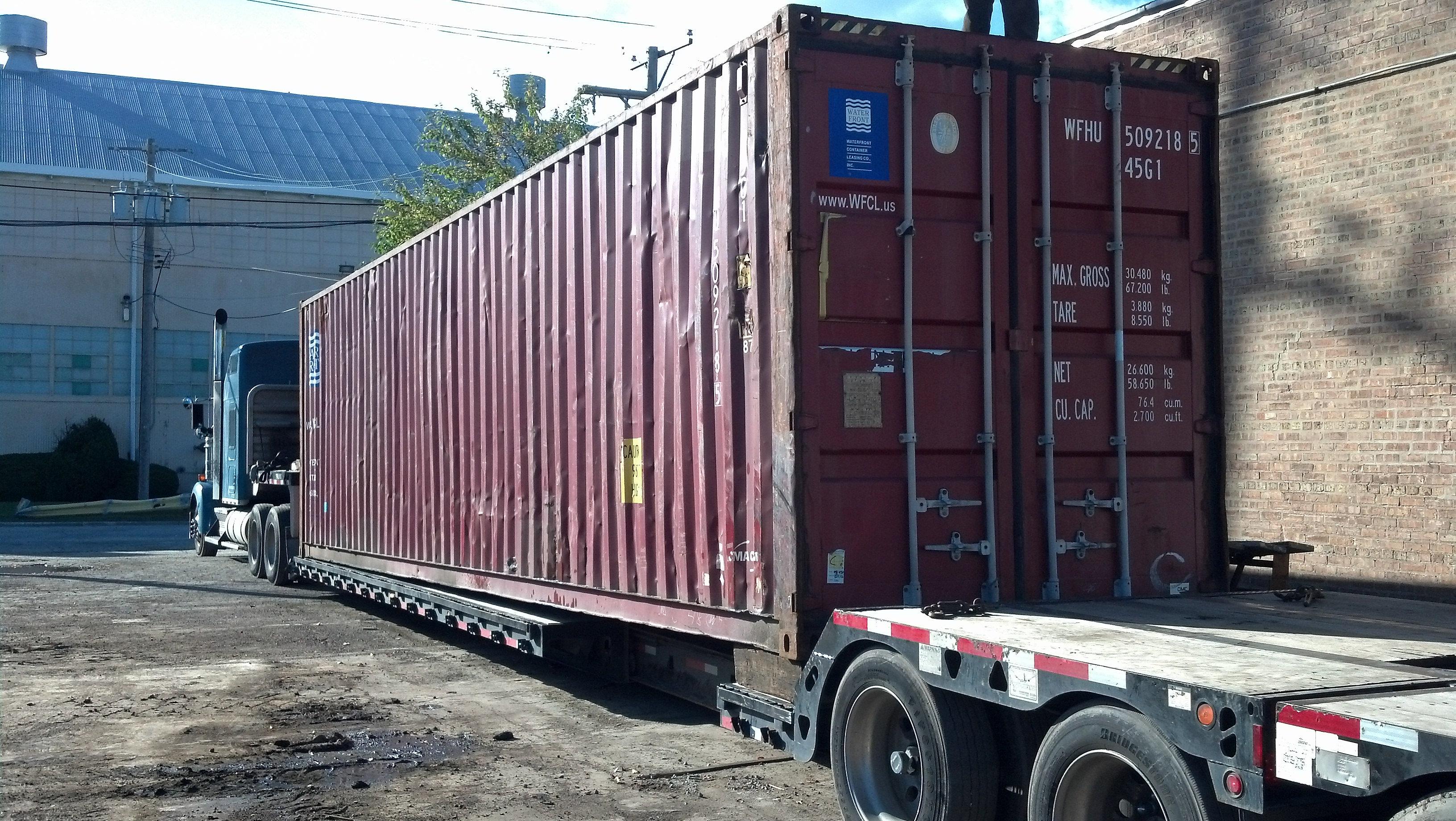 Dismantling& Loading Heavy Equipment for Export in Ocean ...