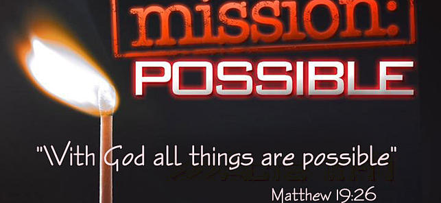 Mission Possible Logo Mission Possible Was Initiated
