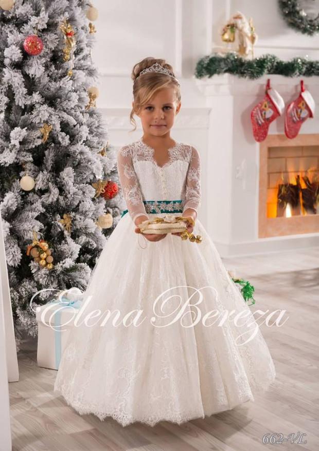 Платья для девочки в свадебном салоне