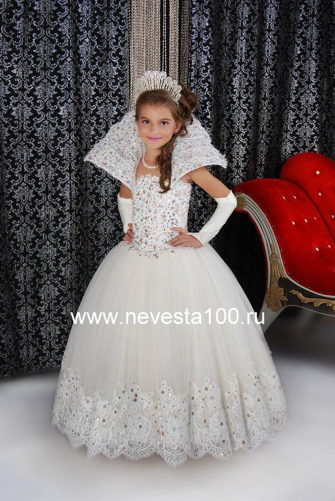 Платье королевы на выпускной в детском саду