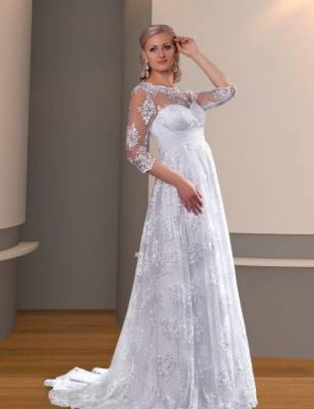 Свадебные платья на 15 неделе беременности
