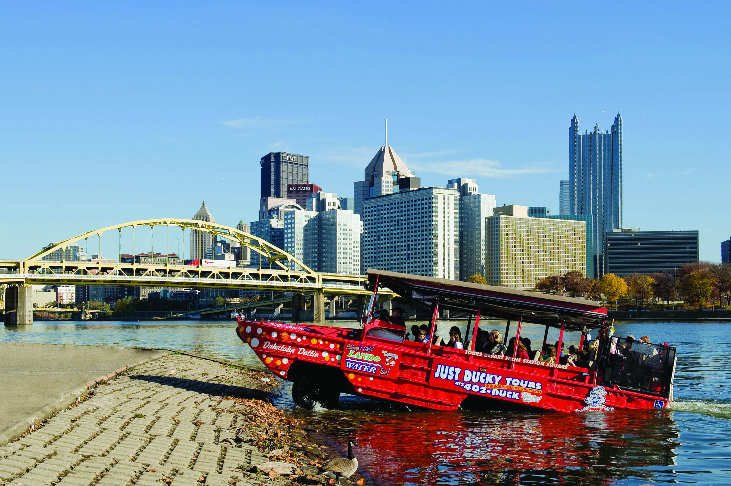 Boat Pittsburgh Tour