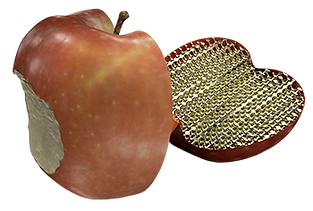 Geomagic_Freeform_Lattice_Apple_Half_No_