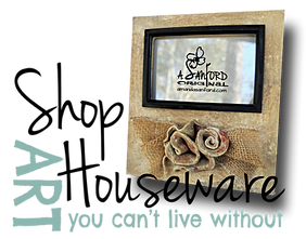 Art you can't live without. Photo Frames, Coasters, Bird Feeders, Handbuilt Pottery Ceramic Magnets, Candle Holders, and more.  Flowers, Magnolias, Roses, Bumble Bees, Butterflies, Dragonflies, Lady Bugs, Distressed, Layered, Painted, Bee, Poppy, Poppies