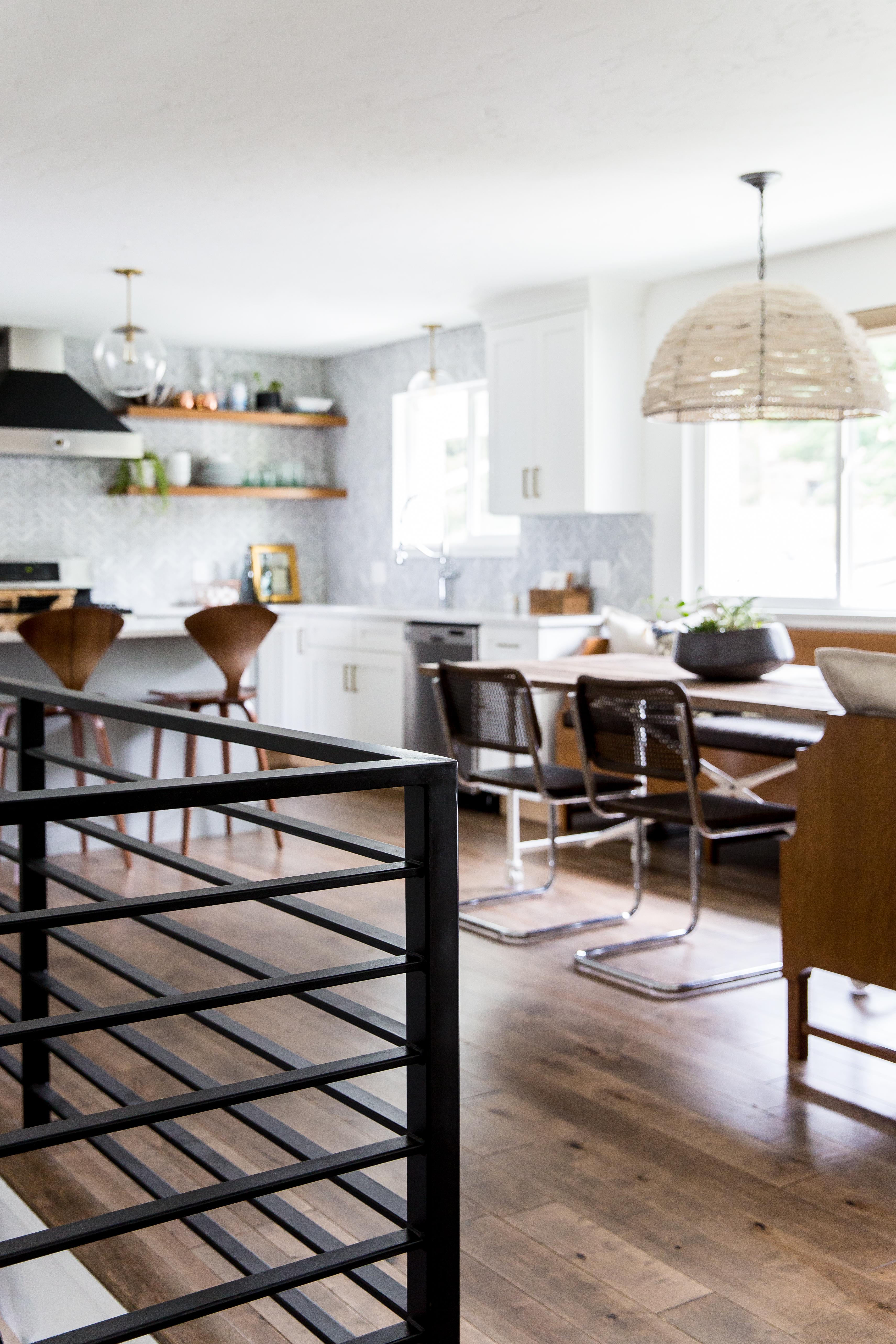 Modern Boho Kitchen Facelift | jamie-bellessa