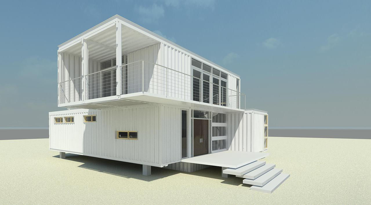 Free website built by dustrowl using design studio - Two story shipping container homes ...