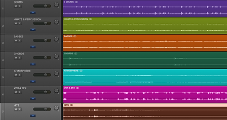Using Stems in Production and Live Performance