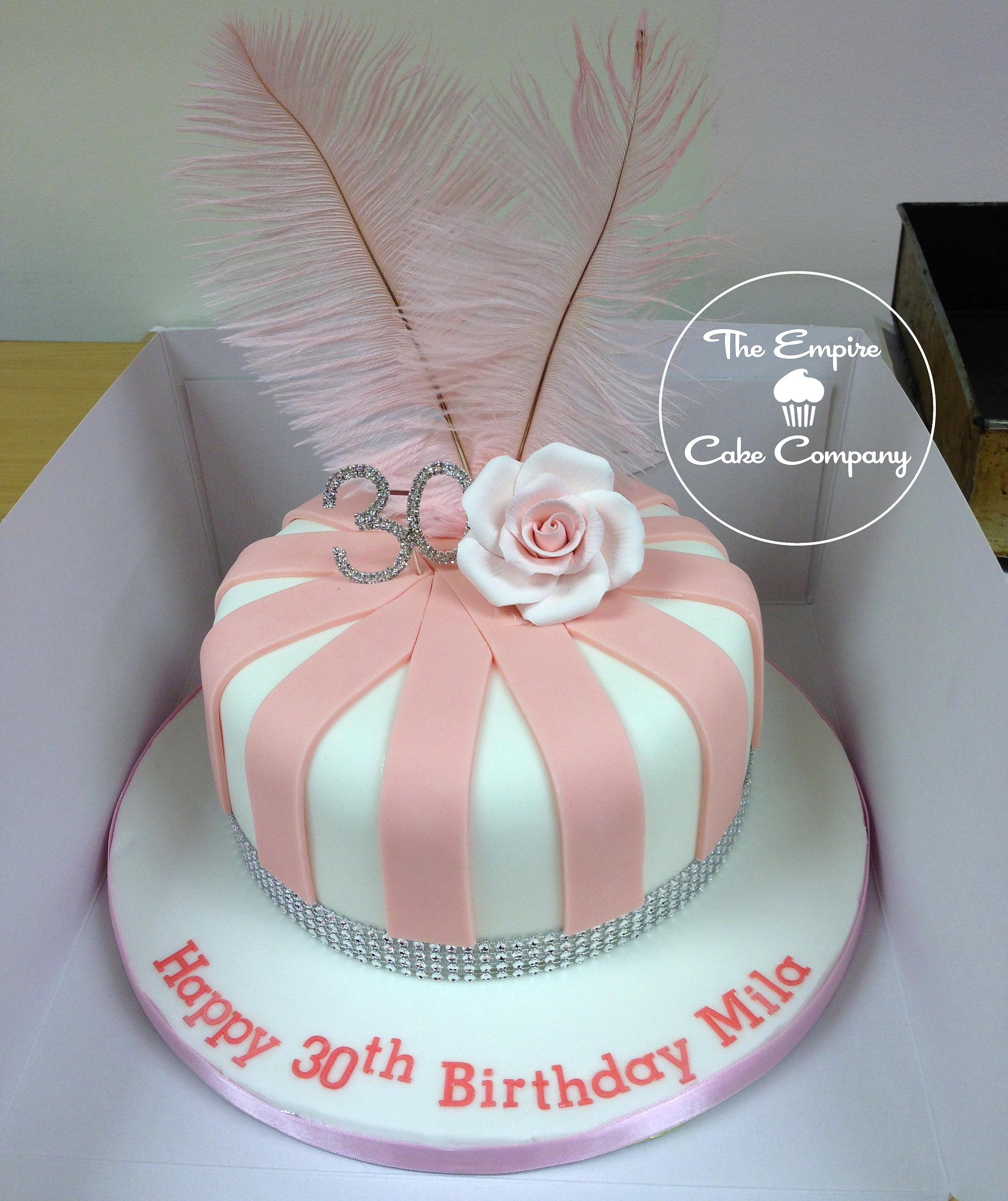 Black And White Hat Box Cake