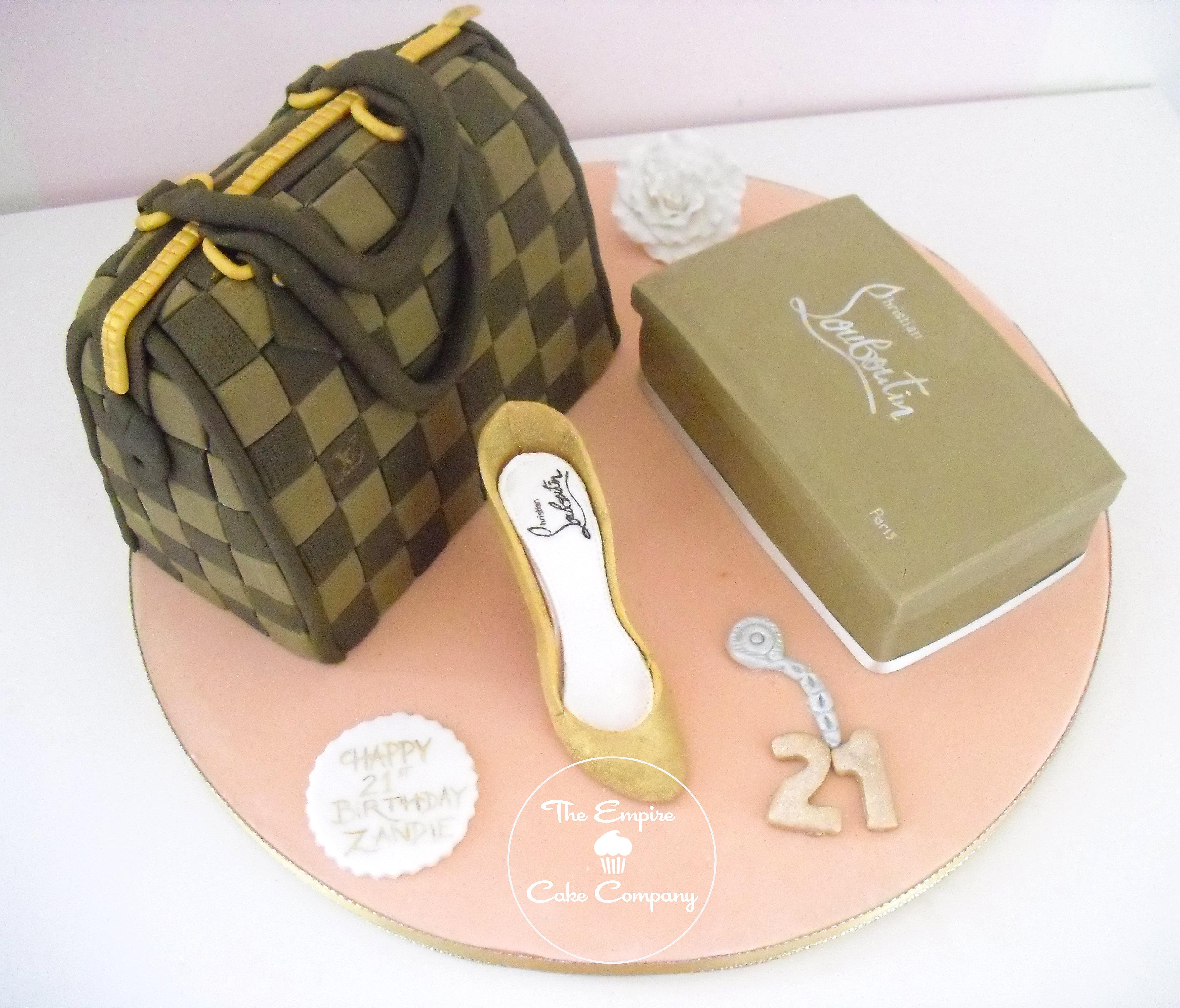 Empirecakecompany Louis Vuitton Louboutin Cake