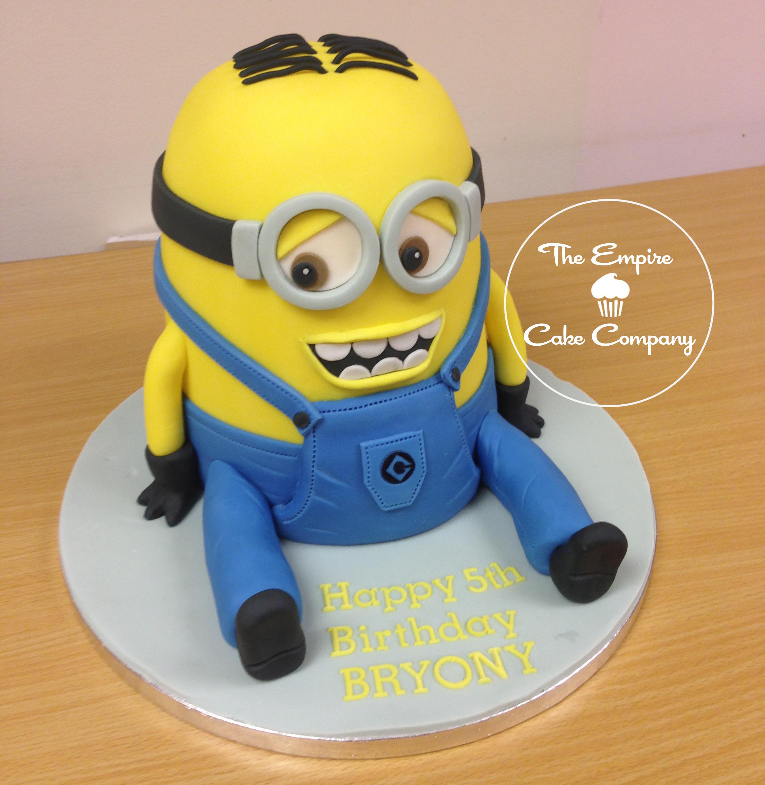 D Minion Cake Images