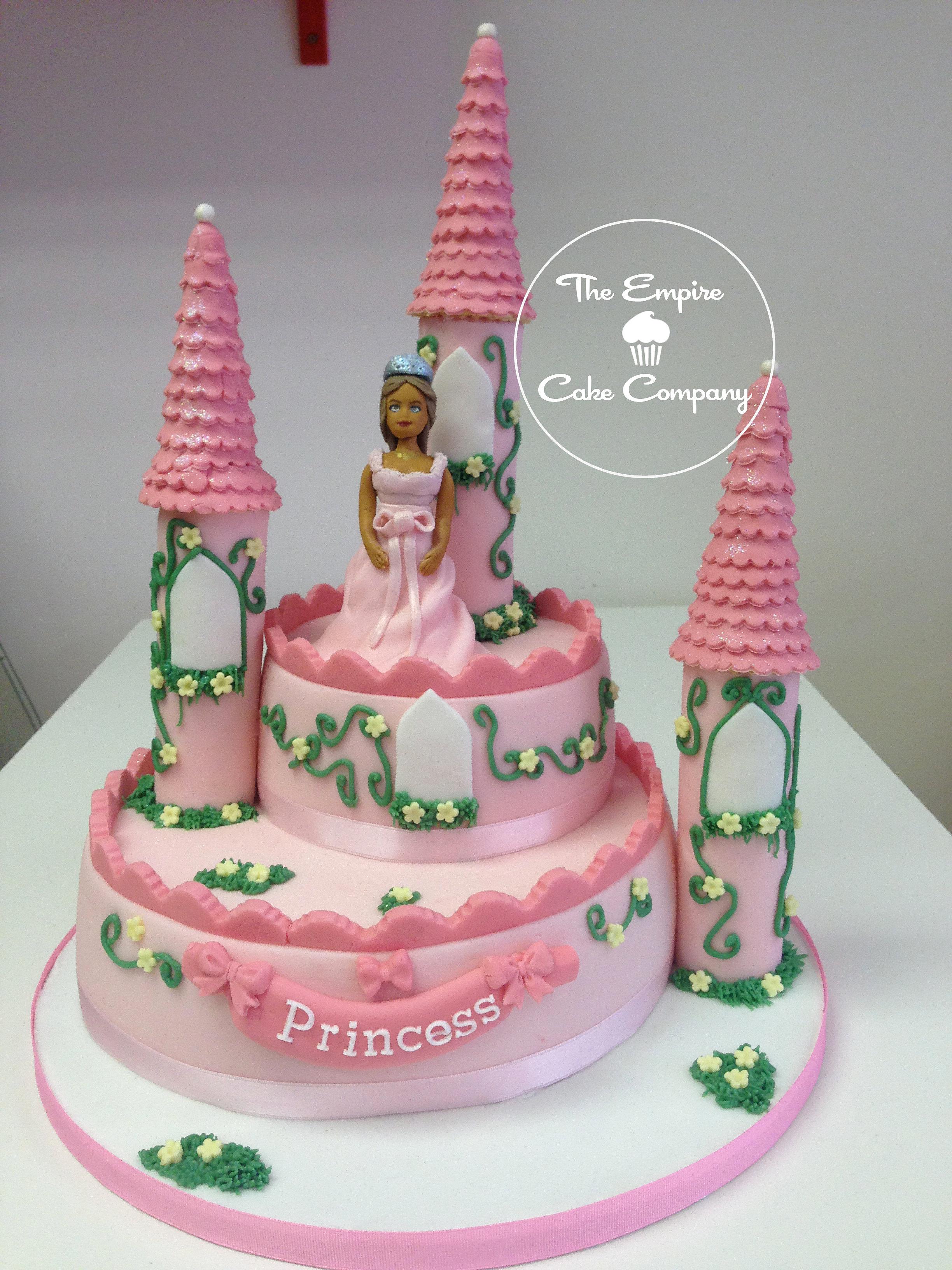 Tier Castle Cake