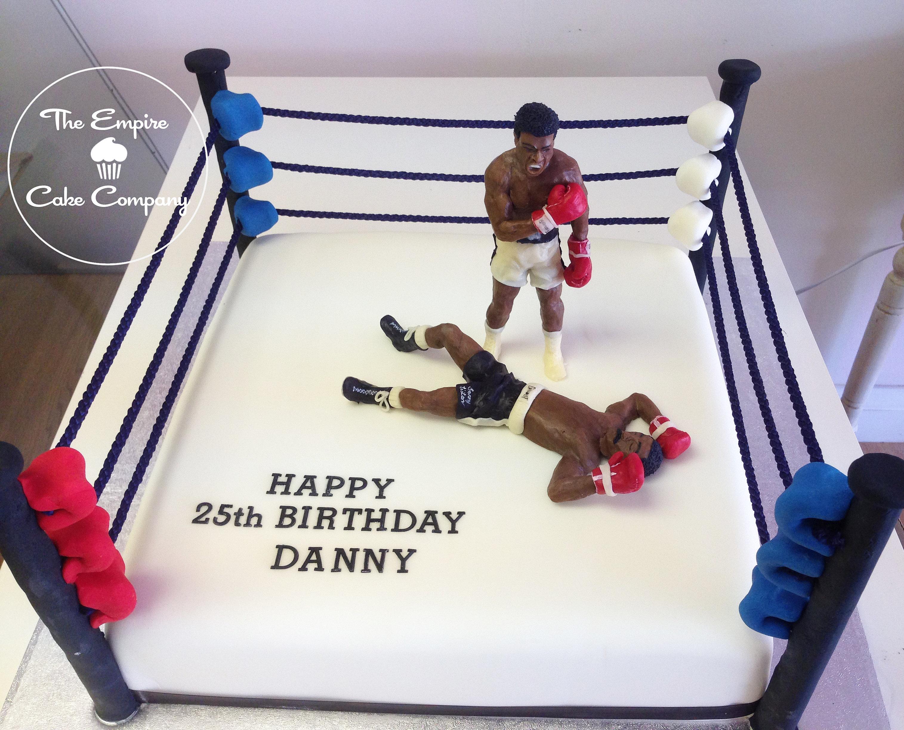 Boxing Ring Cake Price