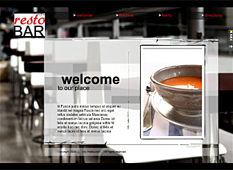 Pro Bistro Template - Get your Hospitality business online with this stunning ready-made Flash template. Easy to customize, this high quality dynamic website is waiting to promote your Food & Beverage place on the web.