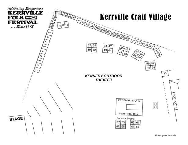 Kerrville Folk Festival Crafts Vendors