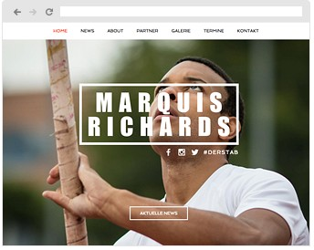 Marquis Richards - Athlete