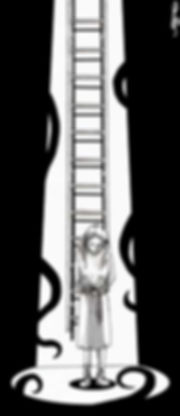 """Ilustración por Juan Raffo basada en la historia de """"El búnker"""" de Carlos Daminsky"""