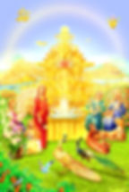 Satyug, Beautiful Royal Gardens of Heaven - Golden Age - BK