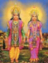 Lakshmi Narayan - Brahma Kumaris images gallery of Satyug