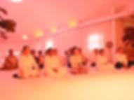 Red light RajYoga meditation - BK centre