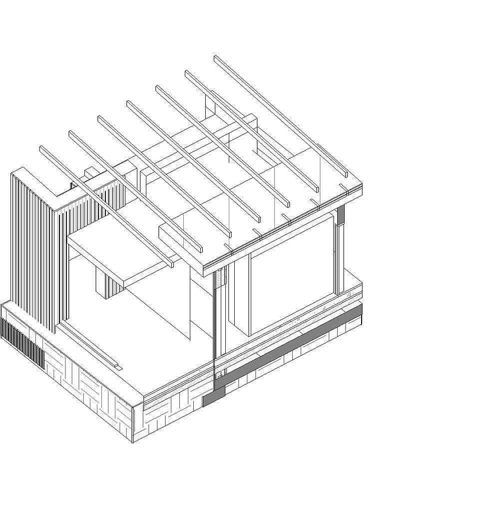 Armand bedrossian architectes projet maison chartrettes for Projet cuisine 3d gratuit