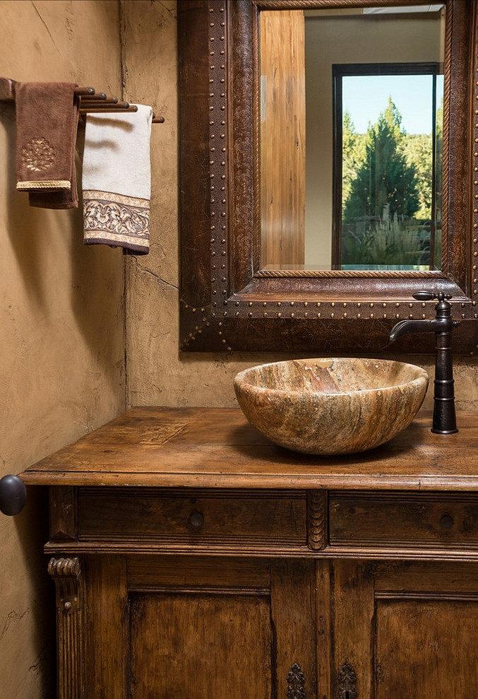 Baños Diseno Rustico:Baño de Visitas – Estilo RusticoDiseño y RemodelaciónSanto Domingo