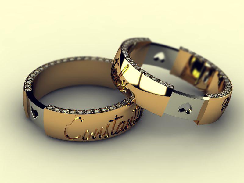 WWW.OPEN.AZ Версия для печати Необычные обручальные кольца