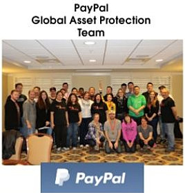 above left the winning glps photo submitted by paypal global asset protection above right the scottsdale team enjoying a free pizza party courtesy of - Wegmans Asset Protection
